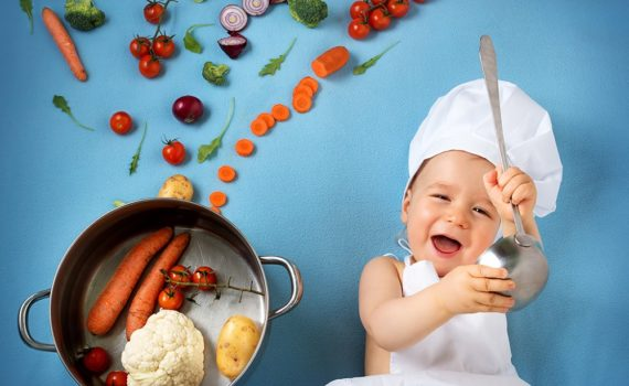Los 5 mejores libros de cocina para bebés